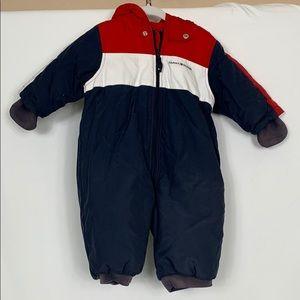 Tommy Hilfiger snow suit size 6-12 mos.